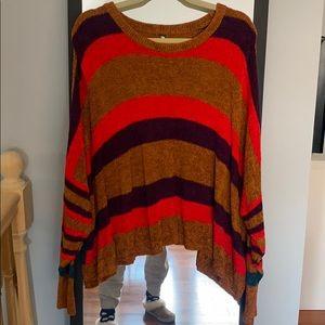 Multicolor Plush Free People Sweater size M